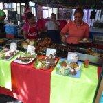 The tastiest food in El Salvador