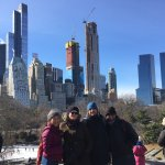 Our group in Central Park