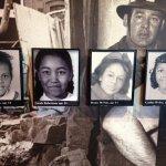Four little girls from the Bapist street bombing.