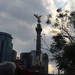 Bilde fra Paseo de la Reforma