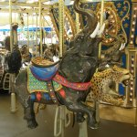 The NC Zoo's menagerie carousel is sure to appeal to kids.