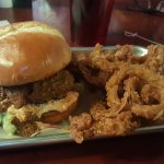 """The Charleston"" burger. Yum!"