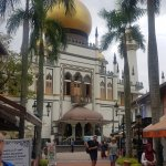 Sultan Mosque is found in the Kampong Glam precinct of Singapore.