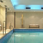 Health club - indoor swimming pool and whirl pool