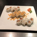 Spicy Scallop and Spicy Salmon Rolls