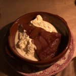Tarte tatin with Chantilly cream