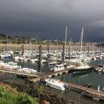 La marina du Moulin Blanc