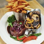Our Filet Mignon Special complete dinner every Thursday for the special price of  $ 43