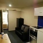 Studio room with kitchenette