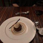 Chocolate mouse w/ cacao-infused ice cream
