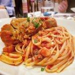Crayfish & Seafood Marinara Pasta