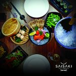 Selection of authentic Japanese food on your table