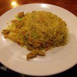 Jimmy's Sushi, Old Glenn Hwy, Eagle River, Alaska. Singapre Rice Noodles / Meifun.