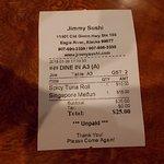 Jimmy's Sushi, Old Glenn Hwy, Eagle River, Alaska.