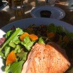 STILLWATERS SPIRITS & SOUNDS, Dana Pt, CA!  The BLUE BEET 🥗 w/Balsamic +Salmon=$20