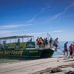 The ferry to Egmont Key