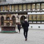 Seiteneingang des Gothischen Hauses in Wernigerode