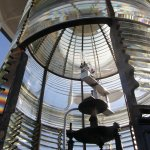 The Bodie Island Lighthouse has a first-order Fresnel lens.