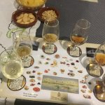 guided tasting of sherry after the tour, with option to buy, lovely fino 7 euros.