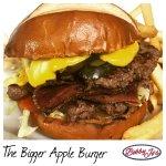 The Bigger Apple Burger