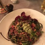 Beetroot and sun-dried tomato salad