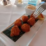 Fantastic scallops and sauce