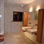 Very well appointed bathroom with underfloor heating