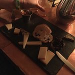 Our cheese plate.