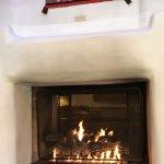 Fireplace in Villa