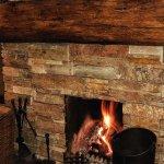 Cosy log fires