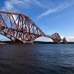 The Forth Bridge from North Queensferry.