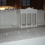 small scale white house