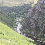 Looking down in the Taieri Gorge