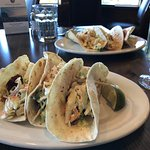 Cod taco lunch