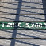 """Grandfather Mountain's famous Swinging Bridge is indeed a """"Mile High!"""""""