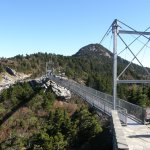 """The """"Mile High"""" Swinging Bridge is only one of the attractions atop Grandfather Mountain."""