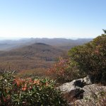 Spectacular views await visitors to the top of Grandfather Mountain.
