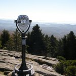 Visitors to Grandfather Mountain are rewarded with awesome views in all directions.