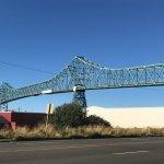 Astoria Bridge on Oregon side