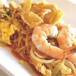 Our Pad Thai includes shrimp and chicken high quality noodles.  It our top selling entree!