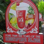 Home of the Singapore Sling