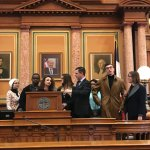 House floor - our group was given permission to photograph.