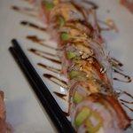 Yet another shot of the best food anyone can get in a Restaurant...the West Texas roll