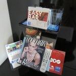 Detalles de revistas y demás.