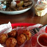 Conch fritters were great!