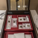 Swiss Signature room. Bathroom amenities.