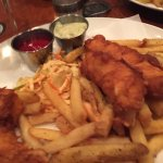 Very delicious fish and chips