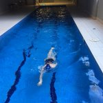 APX World Square Lap Pool - about 15 meters long
