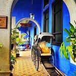 The Blue Mansion