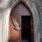 Beautiful swan door handles